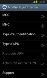 Samsung I8730 Galaxy Express - MMS - Configuration manuelle - Étape 13