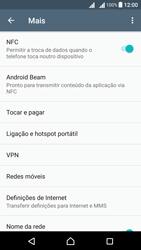 Sony Xperia X Dual SIM (F5122) - Internet no telemóvel - Como configurar ligação à internet -  5