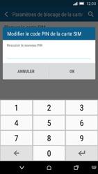 HTC One M9 - Sécuriser votre mobile - Personnaliser le code PIN de votre carte SIM - Étape 9