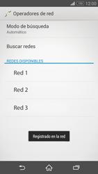 Sony Xperia Z3 - Red - Seleccionar una red - Paso 10
