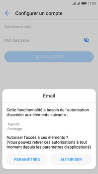 Huawei Mate 9 Pro - E-mail - 032c. Email wizard - Outlook - Étape 5