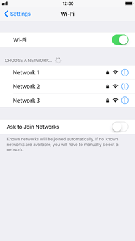 Apple iPhone 7 Plus iOS 11 - Wi-Fi - Connect to Wi-Fi network - Step 5