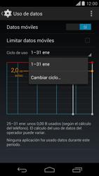 Motorola Moto X (2ª Gen) - Internet - Ver uso de datos - Paso 6