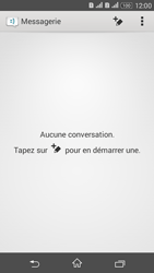 Sony Xperia E4g - Contact, Appels, SMS/MMS - Envoyer un SMS - Étape 4