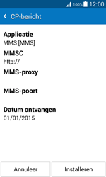 Samsung J100H Galaxy J1 - MMS - automatisch instellen - Stap 6