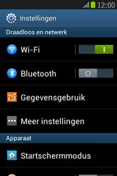 Samsung S6310 Galaxy Young - Wifi - handmatig instellen - Stap 4