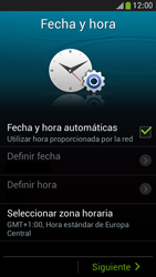 Samsung Galaxy S4 Mini - Primeros pasos - Activar el equipo - Paso 6