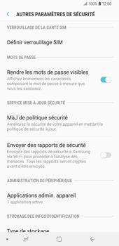 Samsung Galaxy S9 Plus - Sécuriser votre mobile - Personnaliser le code PIN de votre carte SIM - Étape 6