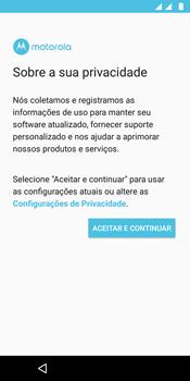 Motorola Moto G6 Play - Primeiros passos - Como ativar seu aparelho - Etapa 10