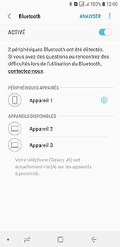 Samsung Galaxy J6 - Internet et connexion - Connexion avec un équipement multimédia via Bluetooth - Étape 10