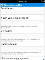 BlackBerry 9810 Torch - E-mail - Handmatig instellen - Stap 13