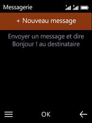 Nokia 3310 - Contact, Appels, SMS/MMS - Envoyer un SMS - Étape 4