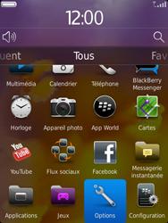 BlackBerry 9810 Torch - Paramètres - Reçus par SMS - Étape 3