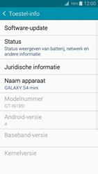 Samsung I9195i Galaxy S4 mini VE - Software updaten - Update installeren - Stap 5