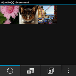 BlackBerry Q10 - Photos, vidéos, musique - Envoyer une photo via Bluetooth - Étape 3