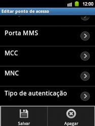 Samsung Galaxy Y - Internet - Como configurar seu celular para navegar através de Vivo Internet - Etapa 14