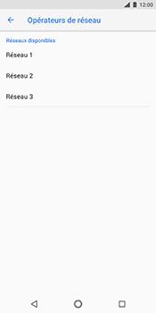 Nokia 7 Plus - Réseau - Sélection manuelle du réseau - Étape 10