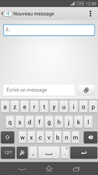Sony Xpéria Z3 - Contact, Appels, SMS/MMS - Envoyer un SMS - Étape 5