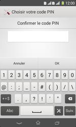 Sony Xpéria E1 Dual - Sécuriser votre mobile - Activer le code de verrouillage - Étape 10