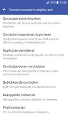 HTC U Play (Model 2PZM3) - Contacten en data - Contacten kopiëren van toestel naar SIM - Stap 6
