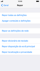 Apple iPhone SE - iOS 11 - Repor definições - Repor definições de fábrica do telemóvel -  6