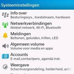 BlackBerry Q10 - Wifi - handmatig instellen - Stap 4