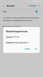 Samsung Galaxy A5 (2017) - Android Nougat - Bluetooth - headset, carkit verbinding - Stap 8