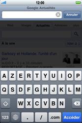Apple iPhone 3G - Internet - navigation sur Internet - Étape 9