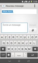 Sony Xpéria E1 Dual - Contact, Appels, SMS/MMS - Envoyer un MMS - Étape 10
