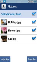 Samsung Wave 723 - Photos, vidéos, musique - Envoyer une photo via Bluetooth - Étape 9