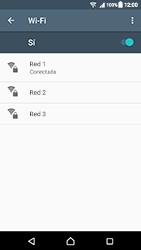 Sony Xperia XZ (F8331) - WiFi - Conectarse a una red WiFi - Paso 8