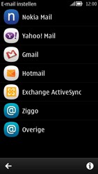 Nokia 808 PureView - E-mail - handmatig instellen - Stap 5