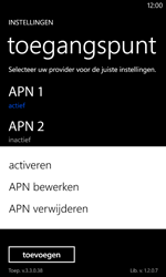 Nokia Lumia 520 - Internet - handmatig instellen - Stap 22