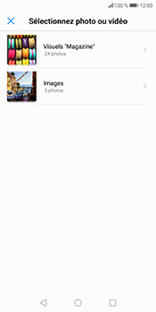 Huawei P Smart - MMS - Envoi d
