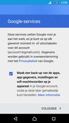 Sony E5603 Xperia M5 - E-mail - handmatig instellen (gmail) - Stap 14