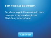 BlackBerry 9620 - Primeiros passos - Como ativar seu aparelho - Etapa 16