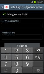 Samsung S7390 Galaxy Trend Lite - E-mail - Account instellen (IMAP zonder SMTP-verificatie) - Stap 13