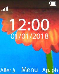 Nokia 108 - Troubleshooter - Affichage - Étape 1