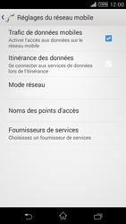 Sony Xpéria T3 - Internet et connexion - Désactiver la connexion Internet - Étape 6