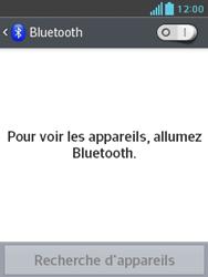 LG E430 Optimus L3 II - Bluetooth - Jumeler avec un appareil - Étape 5