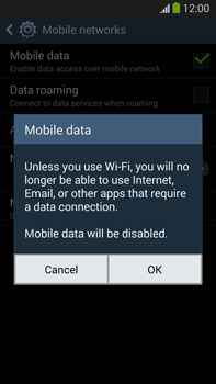 Samsung N9005 Galaxy Note III LTE - Internet - Enable or disable - Step 7