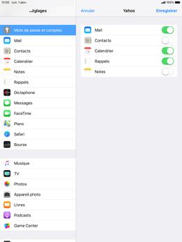 Apple iPad Mini 3 - iOS 12 - E-mail - Configuration manuelle (yahoo) - Étape 8
