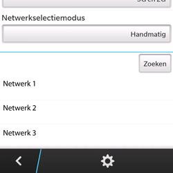 BlackBerry Q5 - Bellen - in het buitenland - Stap 9
