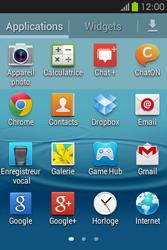 Samsung S6810P Galaxy Fame - E-mail - Configuration manuelle - Étape 3