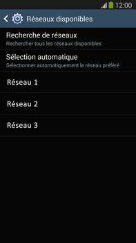 Samsung N9005 Galaxy Note III LTE - Réseau - utilisation à l'étranger - Étape 11