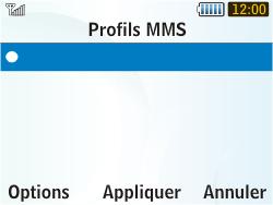 Samsung S3350 Chat 335 - MMS - configuration manuelle - Étape 17