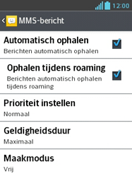 LG E430 Optimus L3 II - MMS - probleem met ontvangen - Stap 8