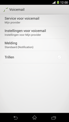 Sony D5503 Xperia Z1 Compact - Voicemail - handmatig instellen - Stap 7