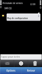 Nokia C7-00 - MMS - configuration automatique - Étape 6