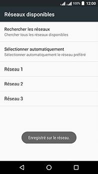 Acer Liquid Zest 4G Plus Double SIM - Réseau - Sélection manuelle du réseau - Étape 11